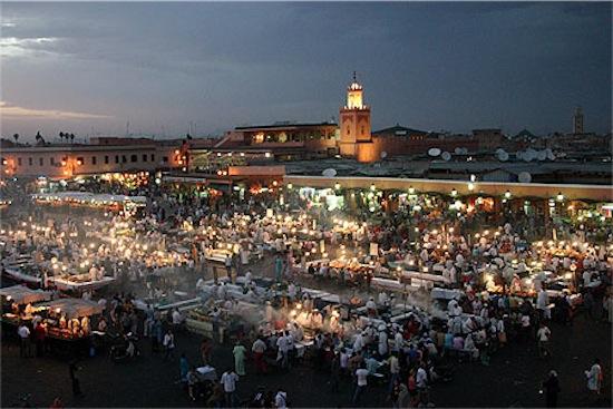 17 marrakech piazza