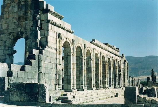 20 volubilis basilica romana